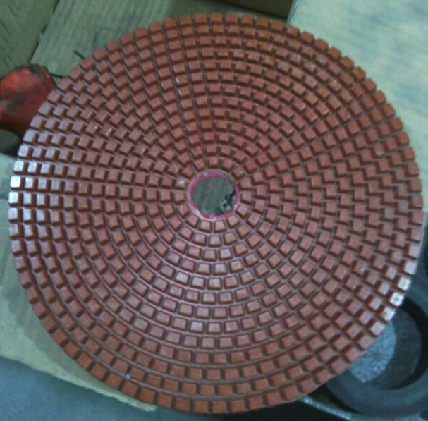 8 inch diamond wet polishing pad for granite marble and concrete