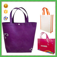YTF-P-GWD065 Purple Tote Shopping Gift Bag Non Woven Wine Bag Wholesale