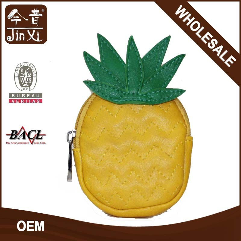 Lovely pineapple shape coin purse JX16109