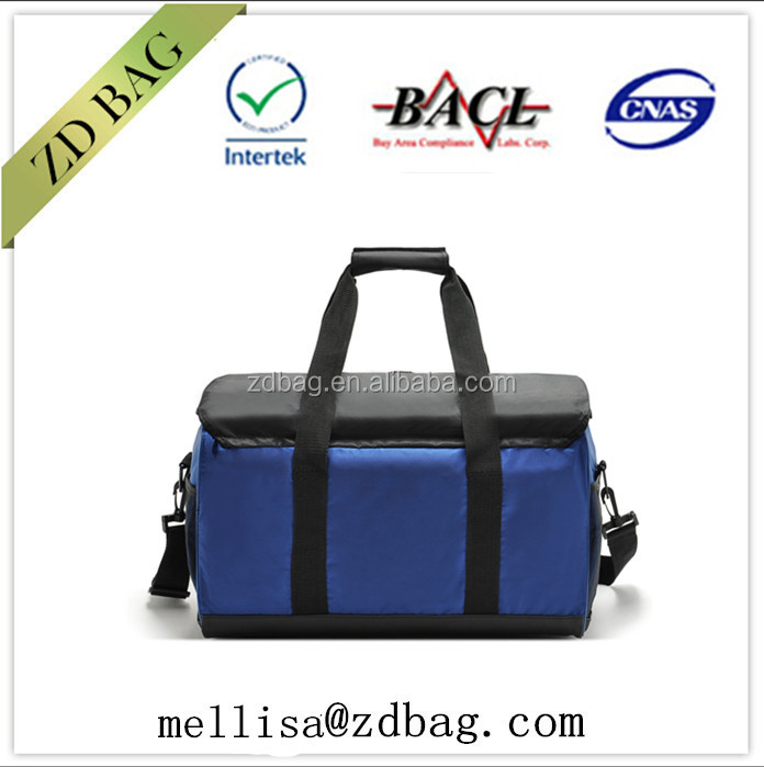 insulated disposable round cooler bag lunch box for frozen food