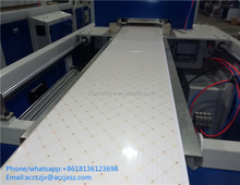 PVC ceiling panel deco wall panel plastic profile extrusion machine line