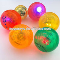 Bouncing Ball with Flashing Light as Promotional Gift 2014