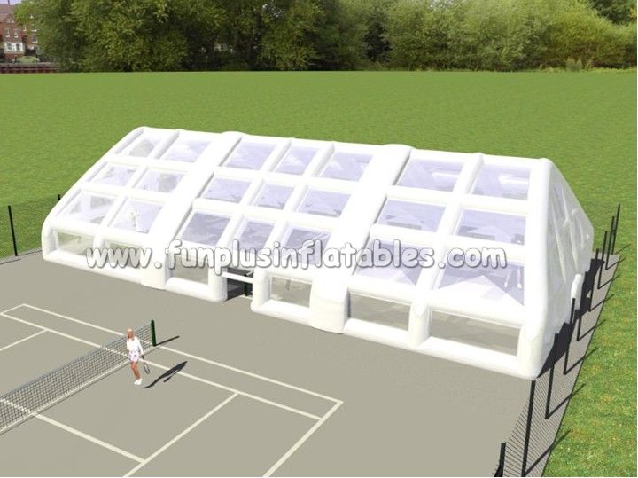 giant outdoor white bubble camping air inflatable tent dome price for exhibition P2014
