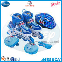 Disney Brand Auto Adjustable Professional Children's Inline Skate Combo Set DCY11150-A
