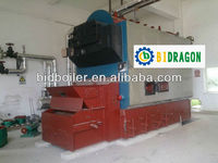 Industrial coal fired&wood pellet burning steam boiler