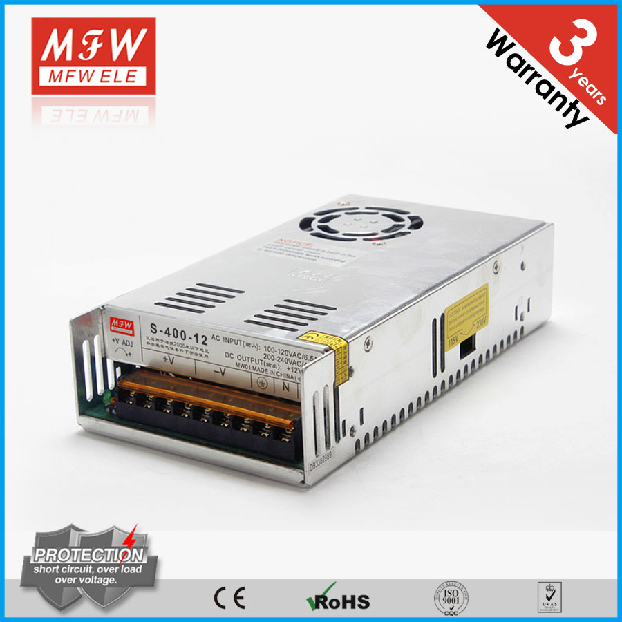 400w 12v 33a single output switching power supply for led /cctv camera power supply