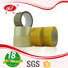 solvent Based Acrylic Yellow Bopp Tape