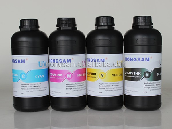 High density led uv ink for epson digital printing