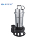 Chinese factory price portable 2.2kw 220v small sluge mud sludge dirty water sewage submersible pump