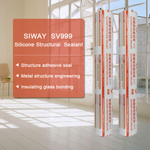 Insulating glass bonding structural neutral silicone l sealant