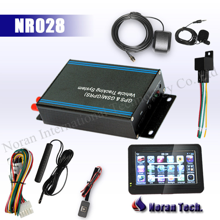 Car gps auto tracker for vehicle with display