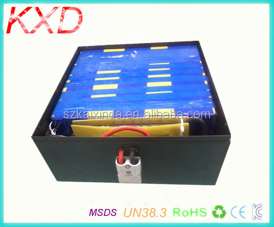 KXD high power lifepo4 battery pack 24v 50ah