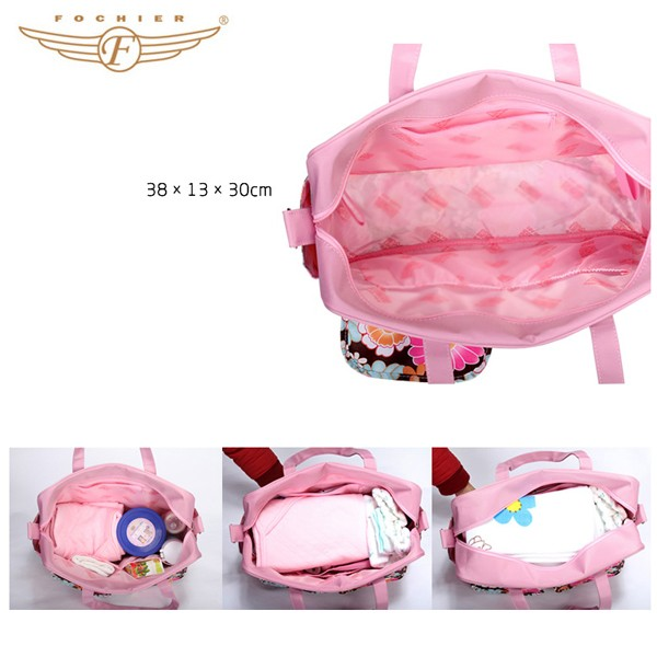 Best Colorful Printed Multi-function Baby Diaper Bag
