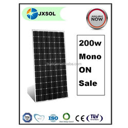 chinese cheap solar panel high quality 200w monocrystalline solar panel
