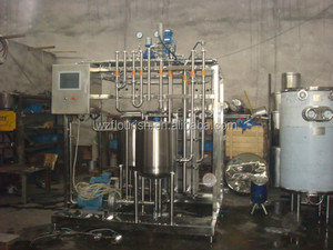 2016New Design Plate type Mini Pasteurizer For Milk