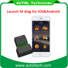 Launch M-Diag Lite Plus for iOS Android OBD2 Code Scanners Automotive Diagnostic Tools (One Free Car Software)