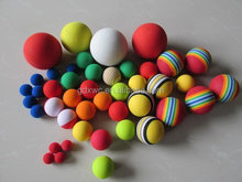 high density foam golf balls