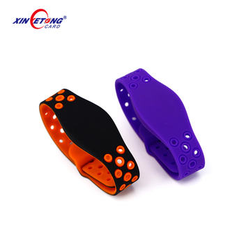 Eco friendly elastic silicone wristbands events wristbands with custom logo color printing