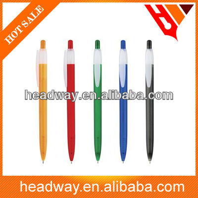 plastic simple ballpen