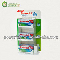 suppliers of Panadol caplets medical care K5/K9 cardboard PDQ counter top display box