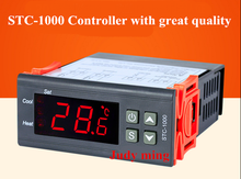 STC-1000 Two Relay Output LCD Digital Temperature Controller with 1m Sensor 110~220VAC 10A Thermostat for Incubator