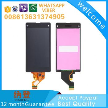 Best quality for Sony xperia Z1 MINI lcd display digitizer touch screen with original color
