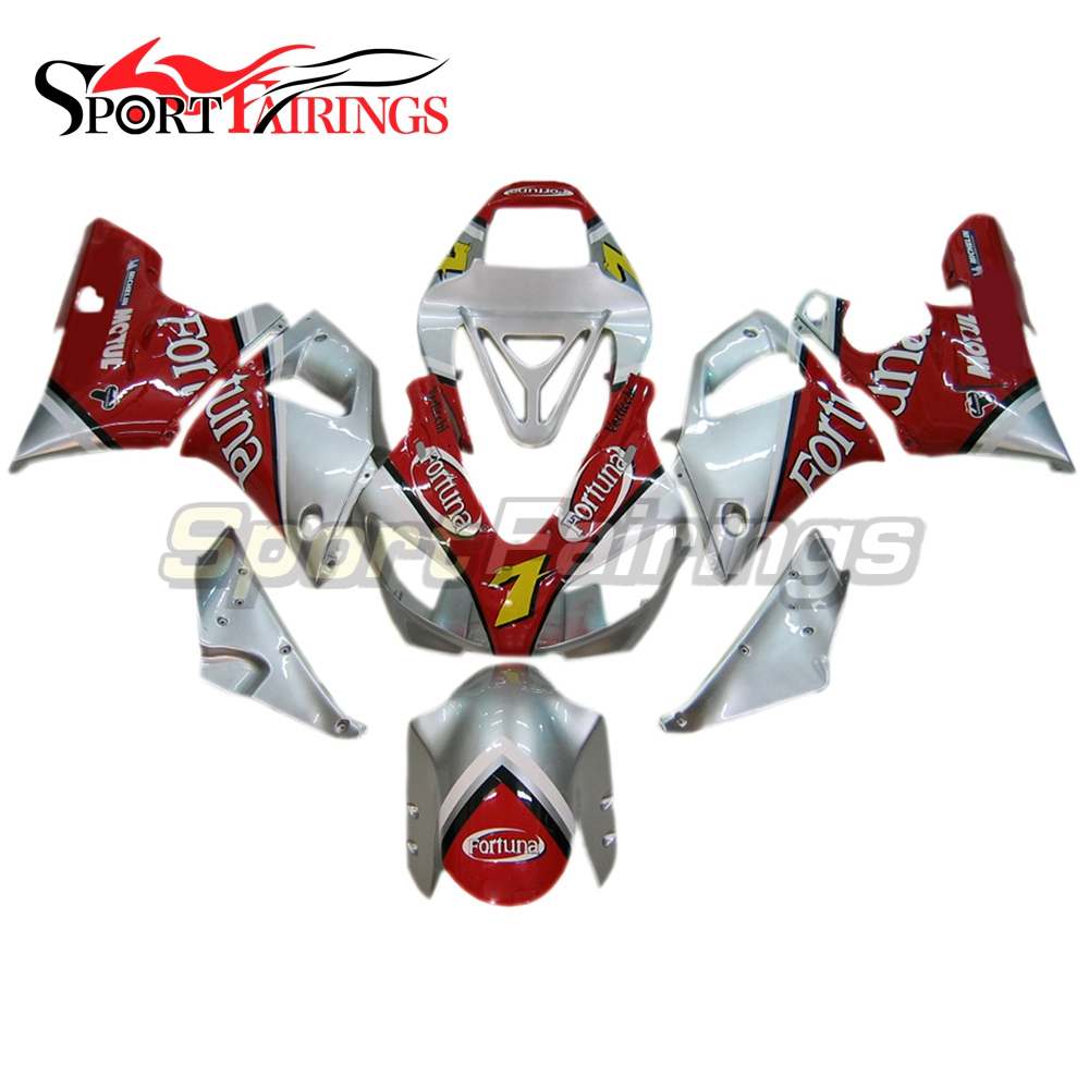 Complete Injection Fairings For Yamaha YZF 1000 R1 98 99 YZF-R1 1998 1999 ABS Plastic Motorcycle Fortuna 7 Red Fairing Kit