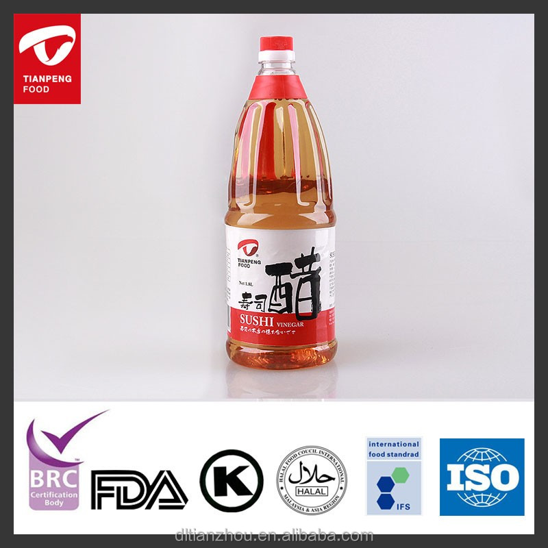 Japanese latest date sweet rice vinegar in bottle with kosher