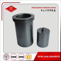 graphite crucible for melting metal