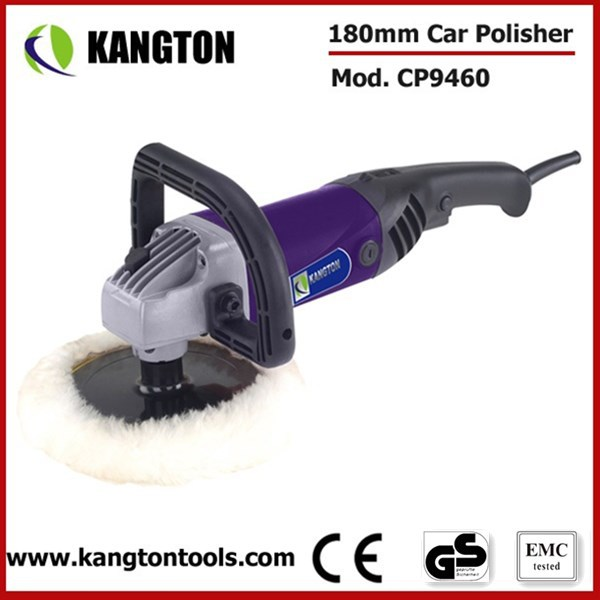 180mm Powerful Variable Speed Polisher Machine Electric Car Polisher