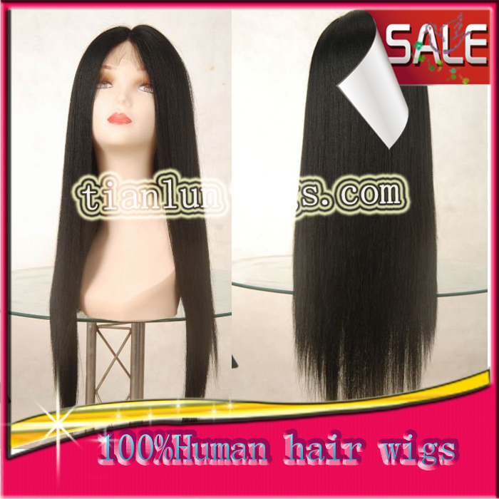 Glueless Full Lace Brazilian Virgin Human Hair Wigs For Black Women Lace Front Wigs