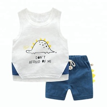Printed Embroidery Summer Kids Clothing Boys Clothes <strong>Children</strong> Clothes <strong>Set</strong> Kids Clothing Boys <strong>Set</strong>