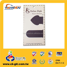 For promotional reading folding custom texture paper Magnetic bookmarks