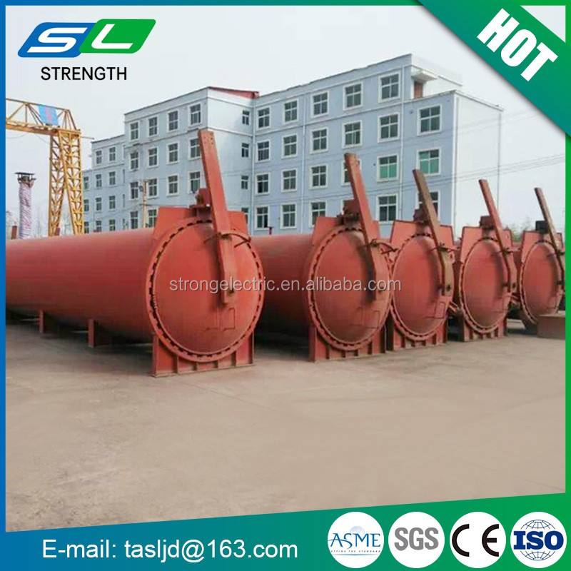 ASME used Carbon Steel 100bar customized industrial composites silicate building products autoclave for lime-sand brick