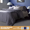 Alibaba China Soft Feel Hotel Bed Comforter Set, Silver Duvet Cover Set