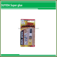 High Quality Fabric Heating Super glue sealant Metal to Metal