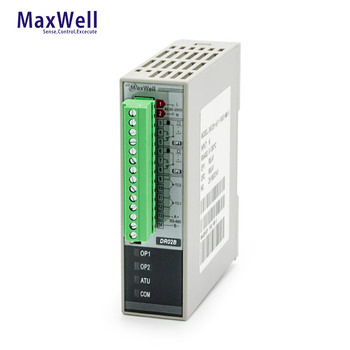 2 inputs 2outputs din rail mounted temperature controller for packing machine