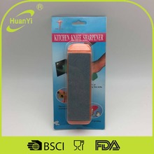 Kitchen accessories mini plastic king knife sharpening stone