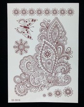alibaba express new product, flower butterfly tattoo stickers, flower tattoos new design