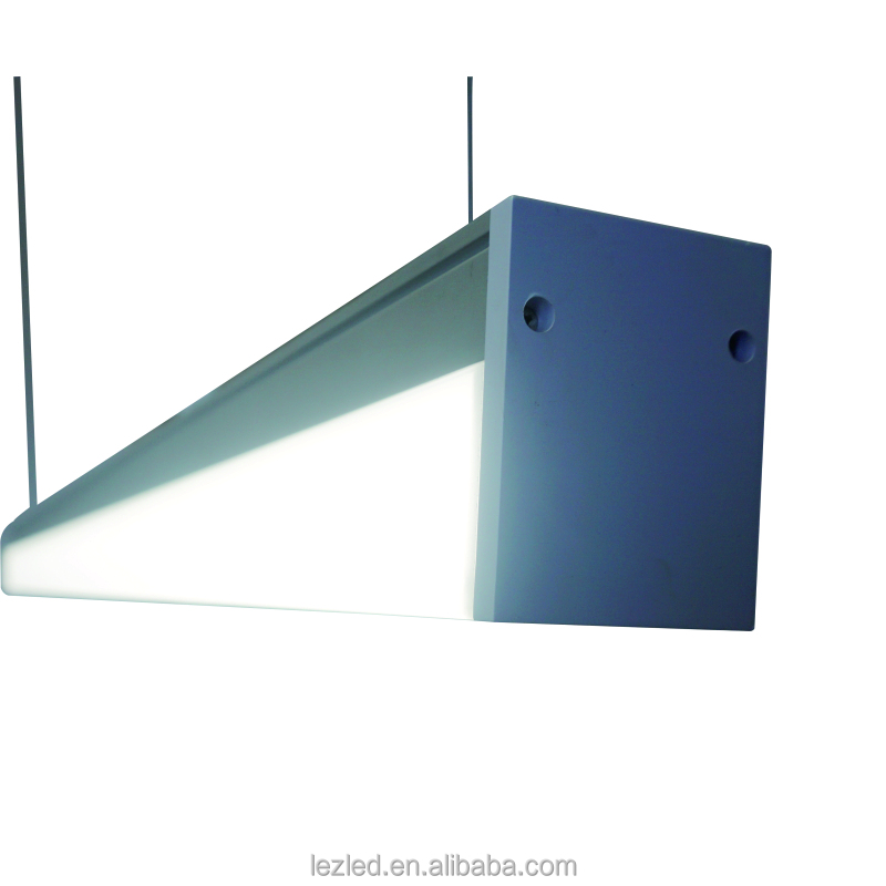 square 1200mm 24w mirror front lamp /ceiling led hanging light with CE approval