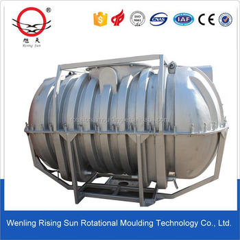 rotational molding machine with Cylindrical Water Tank Mould