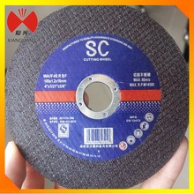 4'' thin disk high quality resin bonded abrasive metal cutting disc