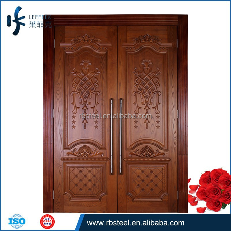 Luxury Main Door Wood Carving Design,Carved Wooden Dorr ,Solid Wooden Door
