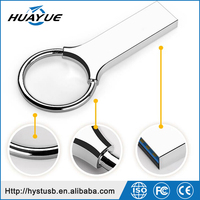 Wholesale Metal Ring Pendrives 8GB 16GB 32GB 64GB USB 3.0 Metal memory Sticks