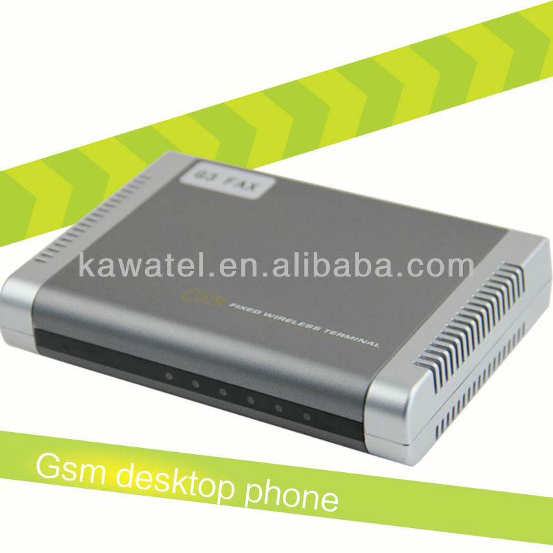Gsm fixed wireless terminal g3 fax