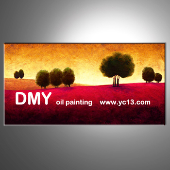 High quality home decoration landscape oil painting