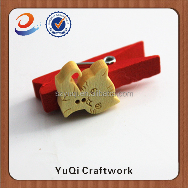 Most popular items decorative wooden clips for school