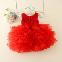 Z91699A 2016 Baby girl party dress children frocks designs baby girls dress western party wear dresses