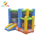 Mini jumping bouncer inflatable bounce house castle for toddlers with basketball hoop