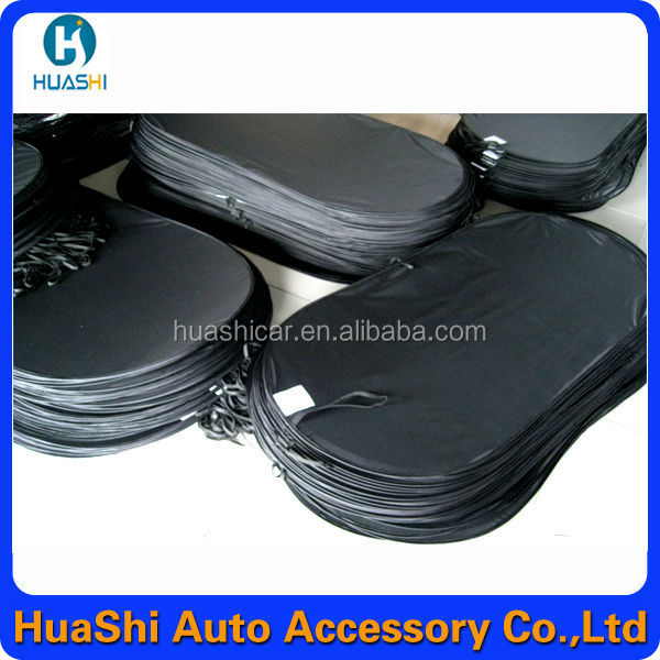 car rear sunshade for window magnetic car windscreen cover
